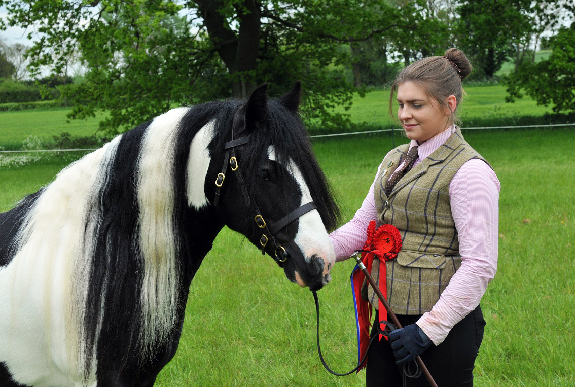 Reserve champions Chloe Fulcher and Tilbury s Lad