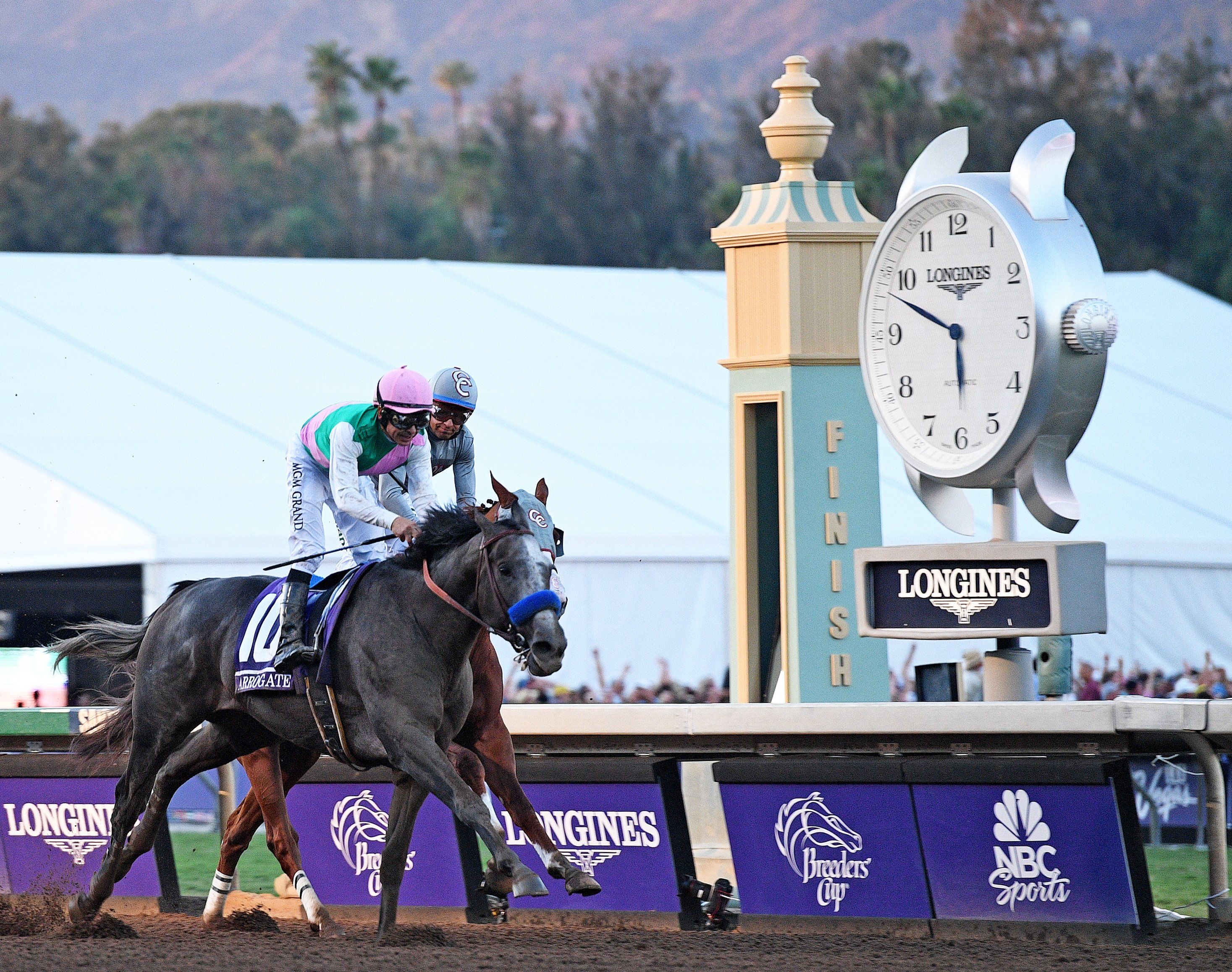 Arrogate winning the Breeders' Cup Classic 2016 © Racingfotos.com