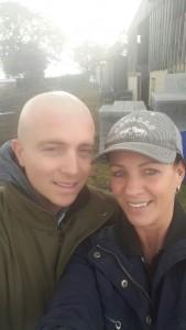 Ben with his mum Lisa