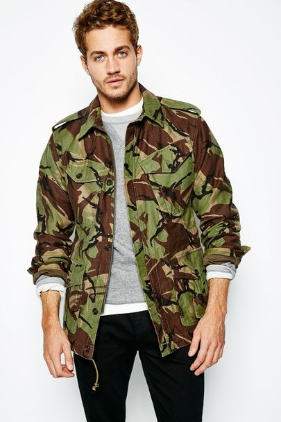 Jack Wills Carrington Camo Jacket</a>