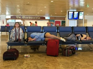 Homeward bound - defeated by Magaluf