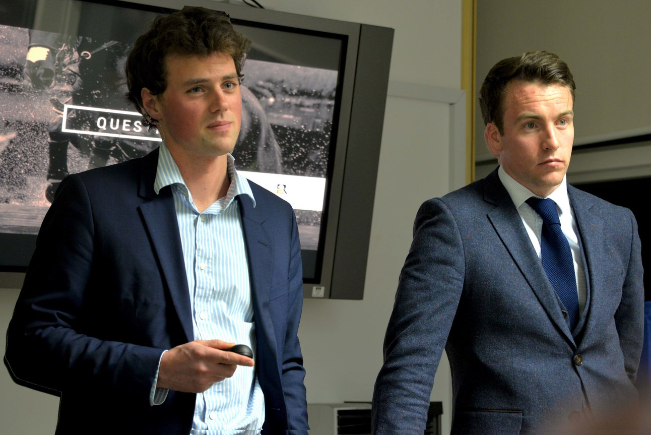 Sam Watson and Diarm Byrne (Equi-Ratings) announce details of the Eventing Ireland ERQI System during the Eventing Ireland AGM (18/02/16)