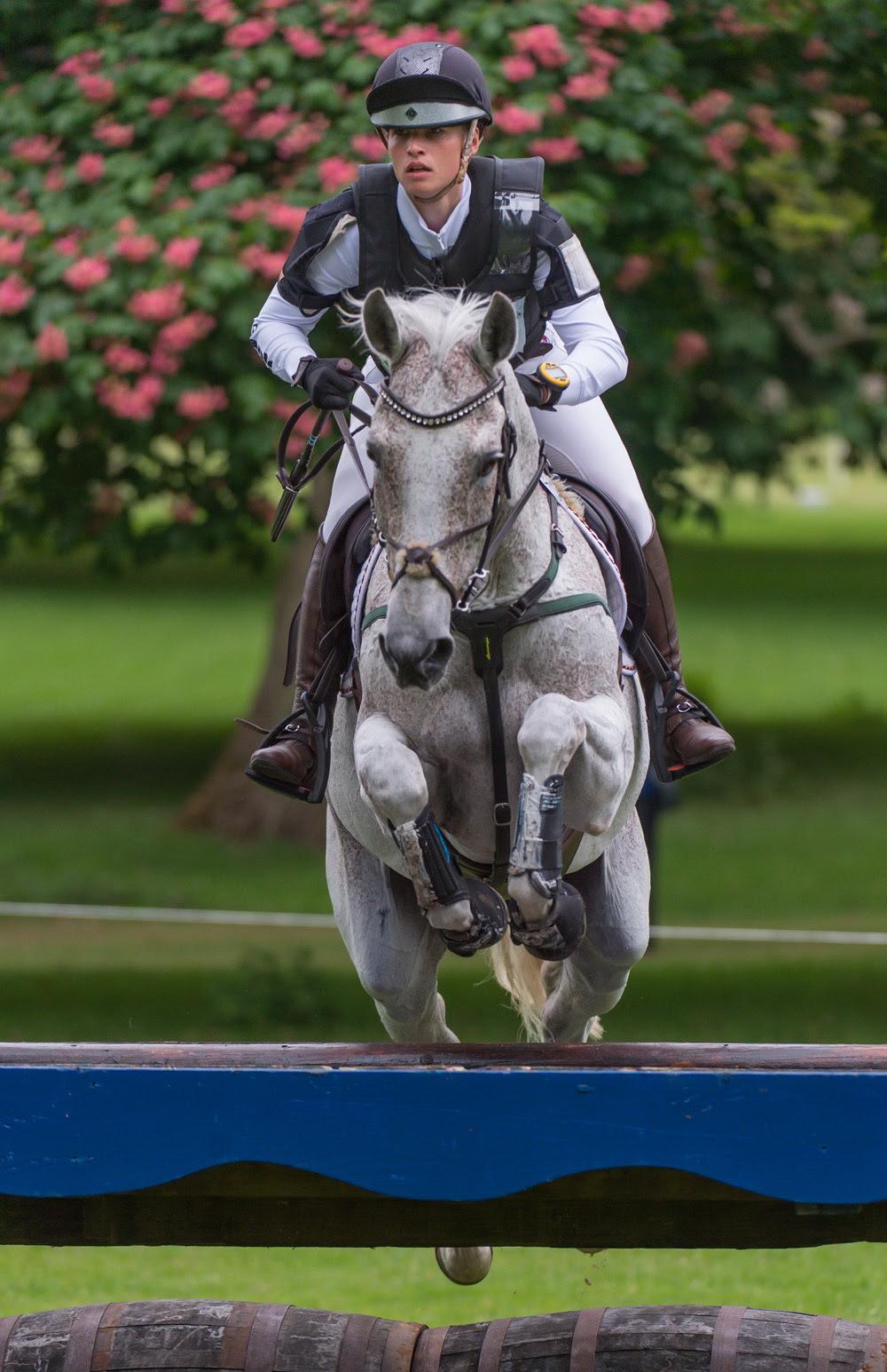 Josephine  Schnaufer (GER) riding  Sambucca 10 CICO  three star competition at the Houghton International Horse Trials 2016 © Trevor Holt