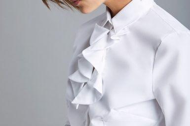 frilled shirt